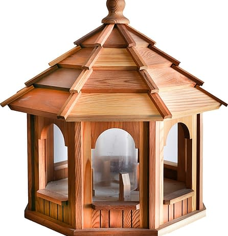 Large Cedar Bird Feeder - BCH Bird Feeders