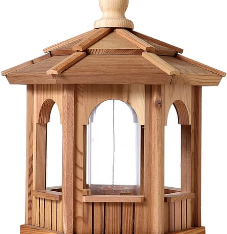 Small wooden Bird Feeder - BCH Bird Feeders
