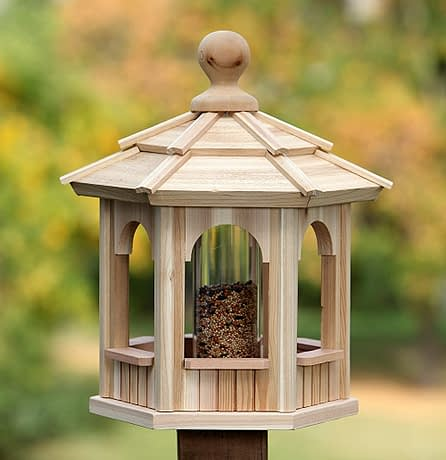 Small Cedar Bird Feeder - BCH Bird Feeders