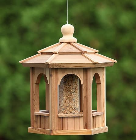 Small Wooden Bird Feeder Gazebo - BCH Bird Feeders