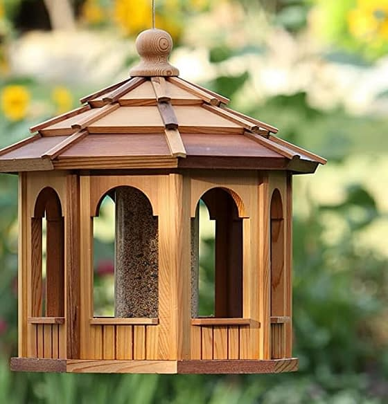 Wooden bird feeder shop and bird feeder products