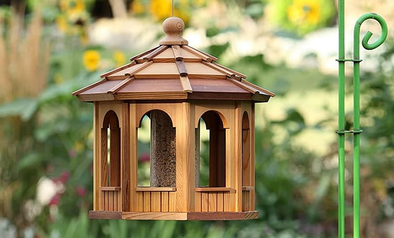 Large Wooden Bird Feeder - BCH Bird Feeders